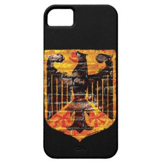 Caso del iPhone 5 del escudo de Eagle del alemán iPhone 5 Carcasa