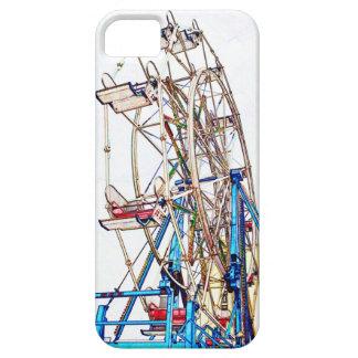 Caso del iPhone 5 del esquema de la Rueda-Tiza de iPhone 5 Case-Mate Protector