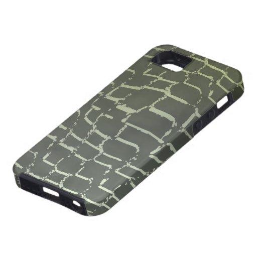 Caso del iPhone 5 del estampado de animales iPhone 5 Funda