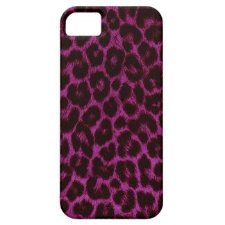 Caso del iPhone 5 del estampado leopardo iPhone 5 Protector