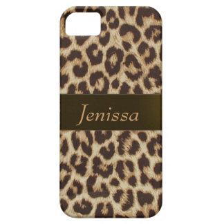 Caso del iPhone 5 del estampado leopardo iPhone 5 Case-Mate Protector