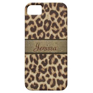 Caso del iPhone 5 del estampado leopardo iPhone 5 Case-Mate Carcasas