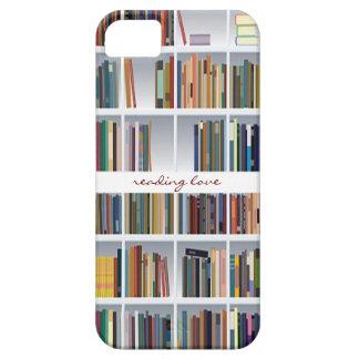 caso del iphone 5 del estante para libros iPhone 5 Case-Mate cobertura