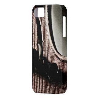 Caso del iPhone 5 del F-Agujero del violín iPhone 5 Carcasas