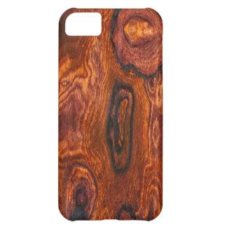 Caso del iPhone 5 del final de Cocobolo (madera)