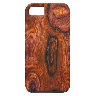 Caso del iPhone 5 del final de Cocobolo (madera) iPhone 5 Case-Mate Protector