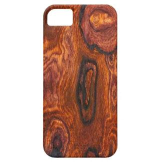 Caso del iPhone 5 del final de Cocobolo (madera) iPhone 5 Protectores