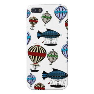 Caso del iphone 5 del flotilla del globo del aire  iPhone 5 carcasas