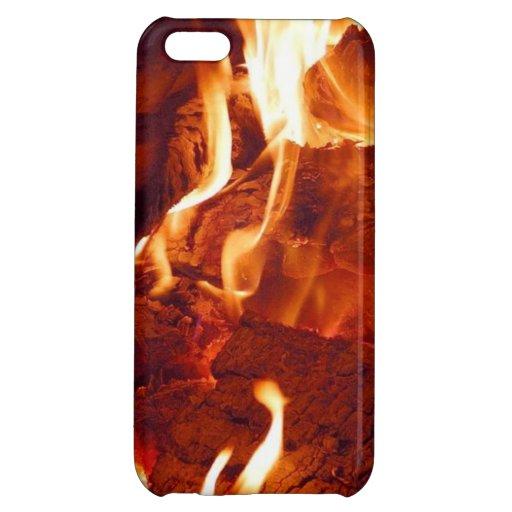 Caso del iPhone 5 del fuego