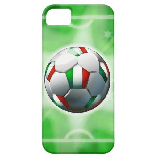Caso del iPhone 5 del fútbol/del fútbol de Italia iPhone 5 Cobertura