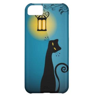 Caso del iPhone 5 del gato negro Carcasa Para iPhone 5C
