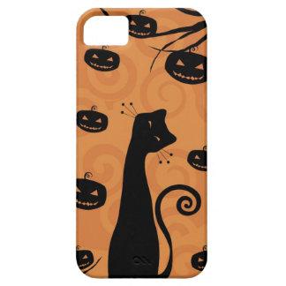 Caso del iPhone 5 del gato negro iPhone 5 Case-Mate Cobertura