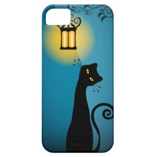 Caso del iPhone 5 del gato negro Funda Para iPhone SE/5/5s