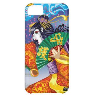 Caso del iPhone 5 del geisha