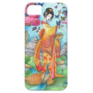 Caso del iPhone 5 del geisha de Maiko del verano iPhone 5 Protector