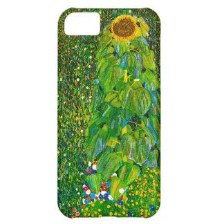 Caso del iPhone 5 del girasol de Gustavo Klimt Funda Para iPhone 5C