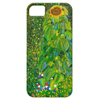 Caso del iPhone 5 del girasol de Gustavo Klimt iPhone 5 Carcasas
