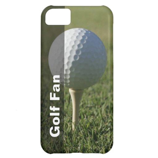 Caso del iPhone 5 del golf
