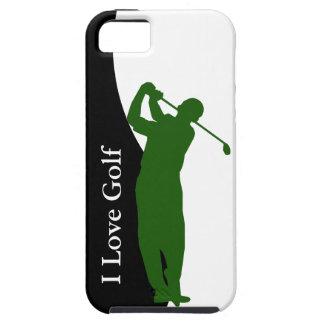Caso del iPhone 5 del golf Funda Para iPhone 5 Tough