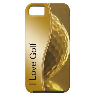 Caso del iPhone 5 del golf iPhone 5 Funda