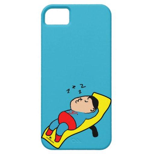 Caso del iphone 5 del hombre el dormir iPhone 5 protector