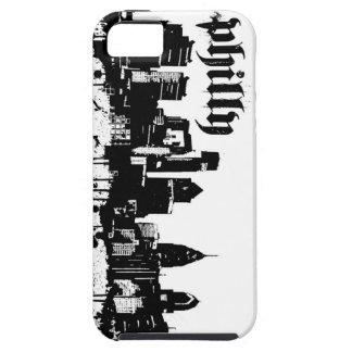caso del iphone 5 del horizonte del grunge de iPhone 5 funda
