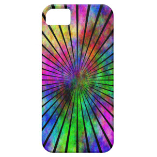 Caso del iphone 5 del instinto del arco iris iPhone 5 Case-Mate carcasas