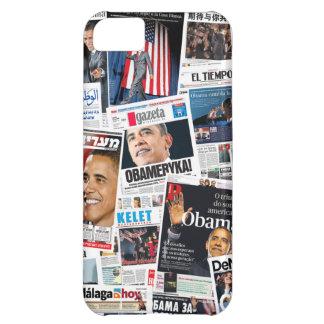 Caso del iPhone 5 del International de Obama 2008 Funda Para iPhone 5C