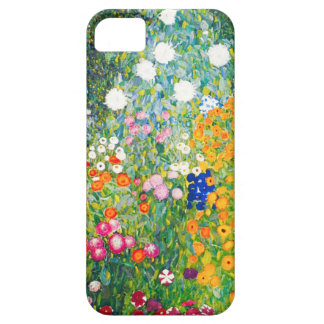 Caso del iPhone 5 del jardín de flores de Gustavo iPhone 5 Fundas