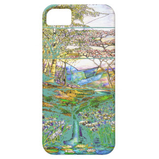 Caso del iPhone 5 del jardín del agua iPhone 5 Carcasa