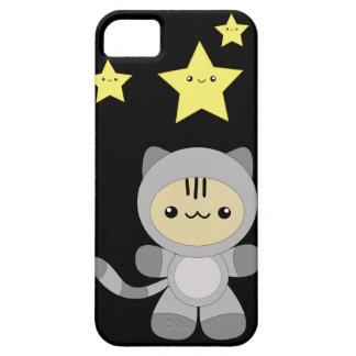 Caso del iPhone 5 del kawaii del gatito de Astro iPhone 5 Cárcasas