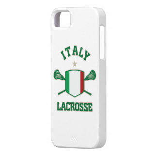 Caso del iphone 5 del lacrosse de Italia Funda Para iPhone SE/5/5s