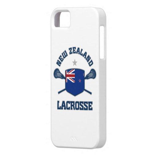 Caso del iphone 5 del lacrosse de Nueva Zelanda iPhone 5 Funda