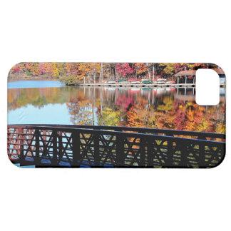 Caso del iphone 5 del lago autumn iPhone 5 fundas