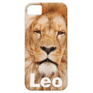 Caso del iPhone 5 del león de Leo iPhone 5 Fundas