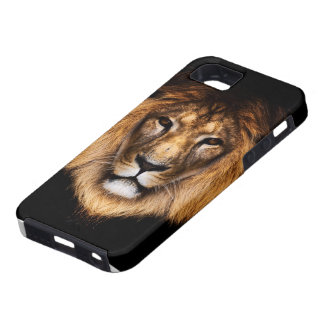 Caso del iPhone 5 del león iPhone 5 Cárcasa