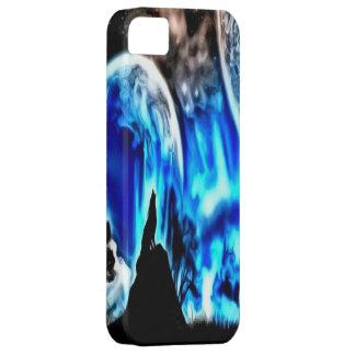 Caso del iPhone 5 del lobo del grito Funda Para iPhone SE/5/5s