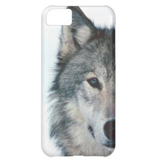 Caso del iphone 5 del lobo funda iPhone 5C