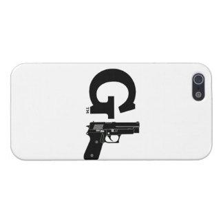 Caso del iPhone 5 del logotipo de GunLink GL iPhone 5 Carcasa