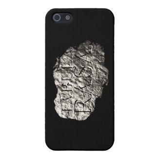 Caso del iphone 5 del logotipo de Tabula Rasa iPhone 5 Carcasa