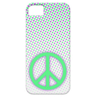 Caso del iPhone 5 del lunar de la paz iPhone 5 Case-Mate Cárcasa