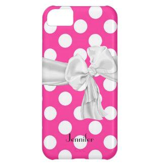 Caso del iPhone 5 del lunar de las rosas fuertes y