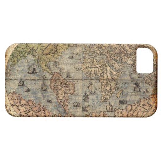 Caso del iPhone 5 del mapa de Viejo Mundo del iPhone 5 Carcasa