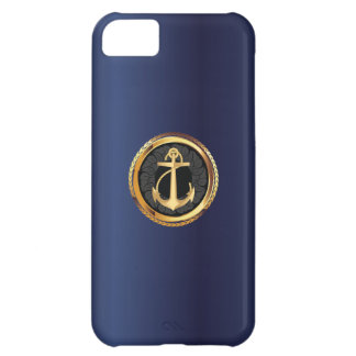 Caso del iPhone 5 del marinero del azul real del a