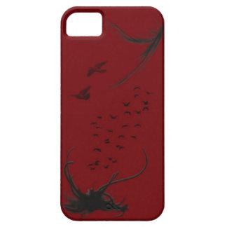 Caso del iPhone 5 del mirlo iPhone 5 Case-Mate Cárcasa