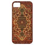 Caso del iPhone 5 del modelo 3148 de la alfombra d iPhone 5 Fundas