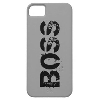 Caso del iPhone 5 del modelo de BOSS iPhone 5 Case-Mate Cárcasa