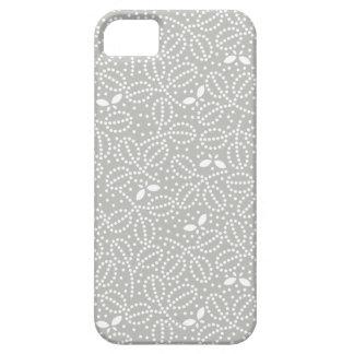 Caso del iPhone 5 del modelo de la hoja de los gri iPhone 5 Case-Mate Cárcasas