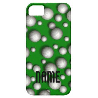 Caso del iPhone 5 del modelo de la pelota de golf iPhone 5 Case-Mate Protectores