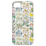 Caso del iPhone 5 del modelo del jardín del botica iPhone 5 Protectores